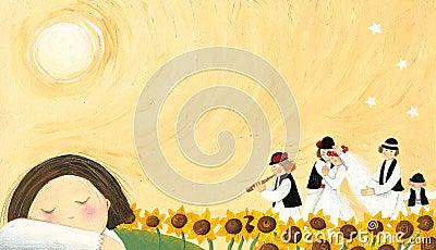 Wedding - folk tradition