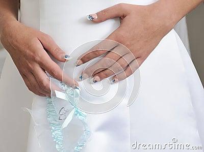 Wedding garter