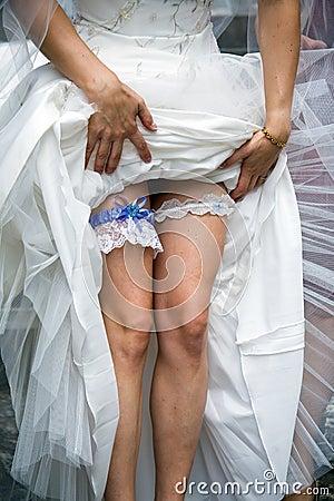 Free Wedding Garter Belt Stock Photo - 4523580