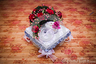 Wedding Gift Decoration Stock PhotoImage: 53613331