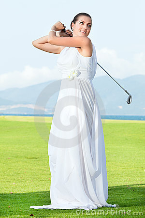 Wedding golf