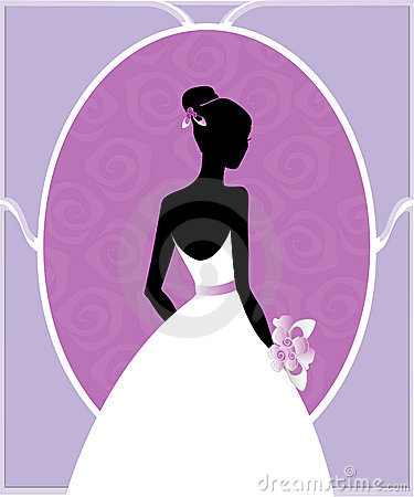 Wedding gown silhouette