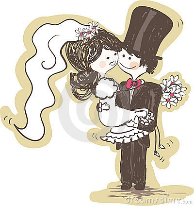 wedding - groom carrying bride