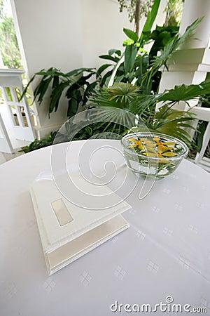 Free Wedding Guest Book Stock Photos - 8488683