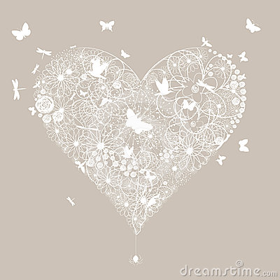 Free Wedding Heart5 Stock Photography - 24334102