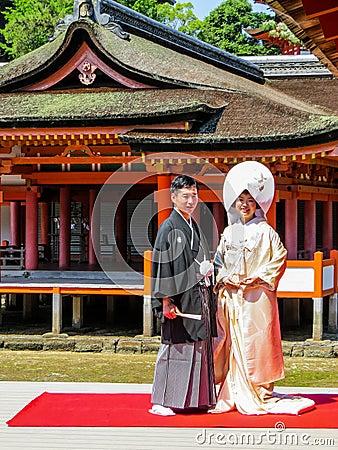 Free Wedding In The Shrine Stock Photo - 72315790