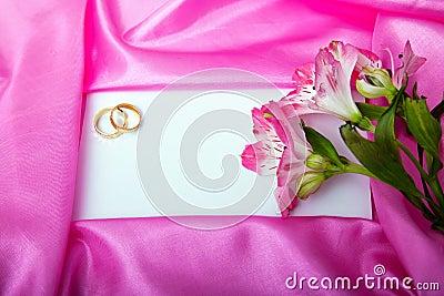 Wedding invita lo spazio in bianco