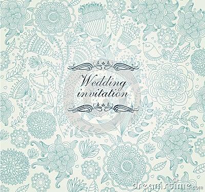 Free Wedding Invitation Stock Photography - 23068912