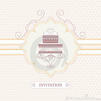 Free Wedding Invitation Royalty Free Stock Images - 24082259