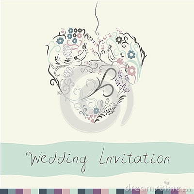 Free Wedding Invitation Stock Photos - 66239923