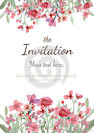 Free Wedding Invitation Card Royalty Free Stock Image - 51115156