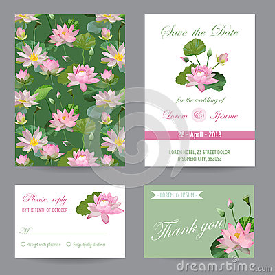 Free Wedding Invitation. Congratulation Card Set. Save The Date Stock Images - 73816814