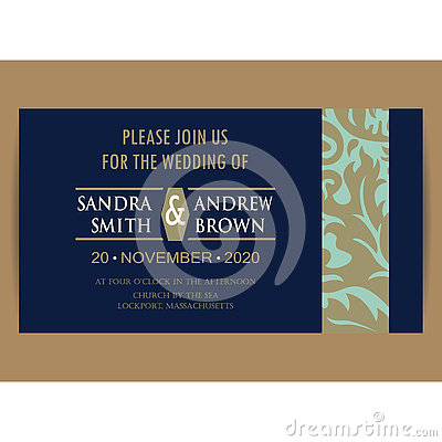 Wedding Invitation And Save The Date Cards Vector Image – Save the Date Cards Birthday