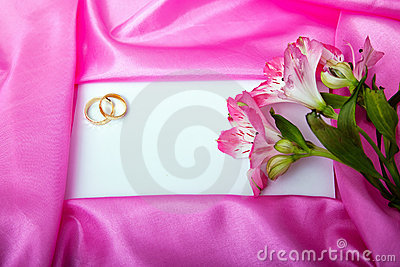 Wedding invite blank