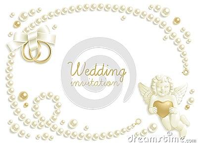 Wedding jewel background