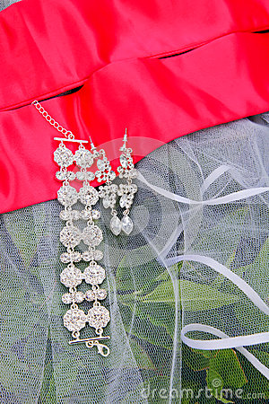 Wedding jewels.