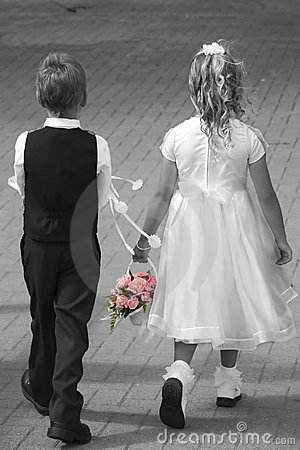 Wedding kids