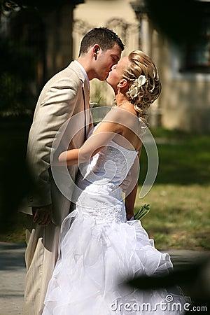 Free Wedding Kiss Stock Photo - 10773240