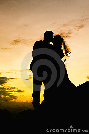 Free Wedding Kiss Stock Photography - 17051922