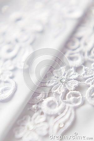 Free Wedding Lace Background Royalty Free Stock Image - 5404916