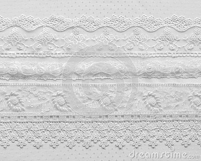 Wedding lace background