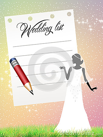 Wedding list