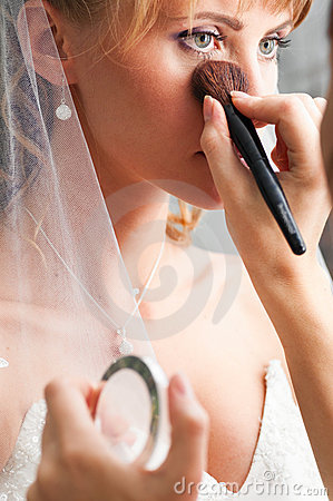 Free Wedding Make-up Stock Images - 18879394