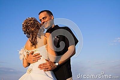 Wedding and marriage couple