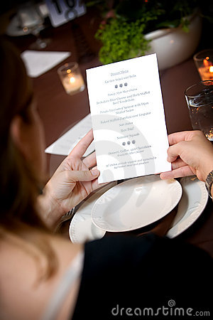 Free Wedding Menu Stock Photos - 4544713