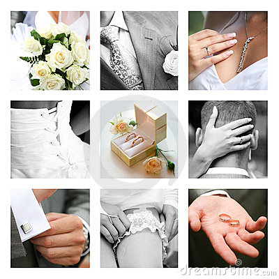 Free Wedding Moments Royalty Free Stock Photography - 6181187