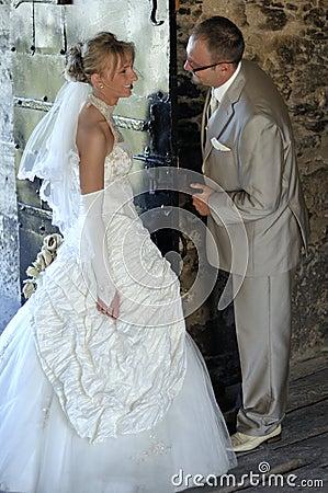 Wedding outdoor scenery