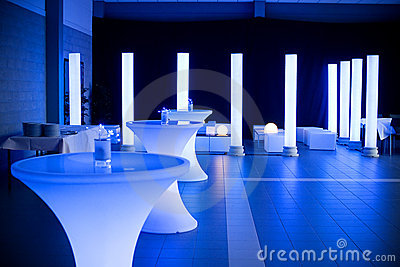 Wedding party venue