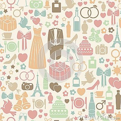 Free Wedding Pattern Royalty Free Stock Images - 28487029