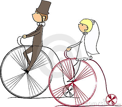 Wedding picture, vector