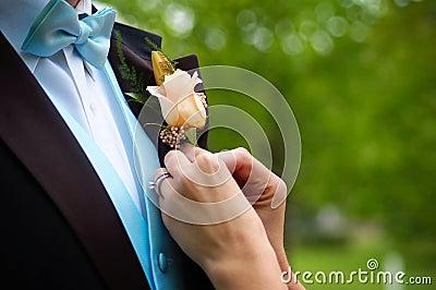 Wedding preperations