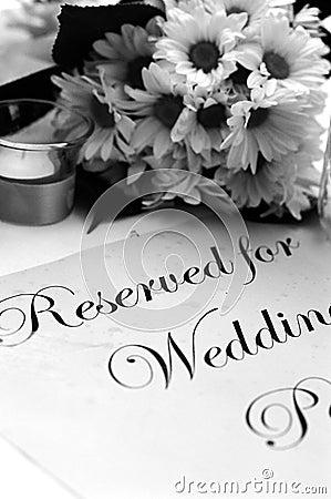 Free Wedding Program Royalty Free Stock Images - 530959