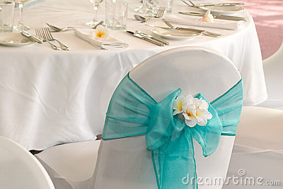 Wedding reception display