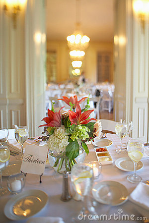 Free Wedding Reception Table Stock Images - 5871954