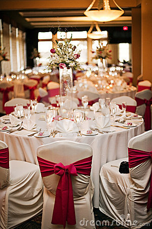 Free Wedding Reception Tables Stock Images - 13854784