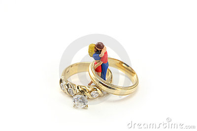 Wedding ring concept