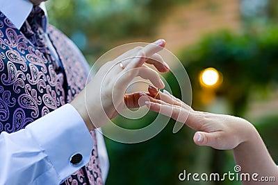 Wedding ring - symbol of love