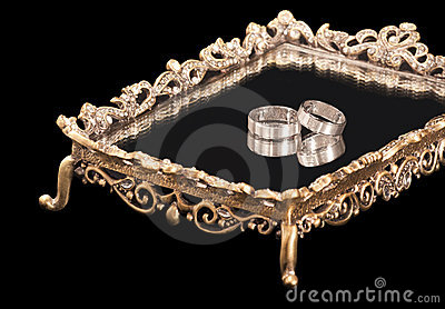 Wedding Rings Royalty Free Stock Image - Image: 21582306