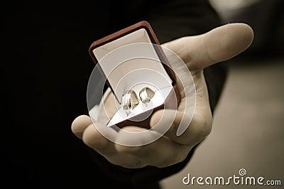 wedding rings in grooms hands - Wedding Rings On Hands