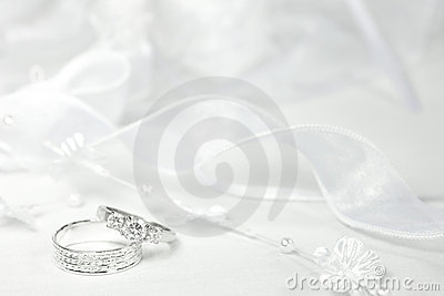 Wedding Rings and Lace