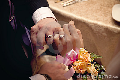 Wedding rings and Love Promise