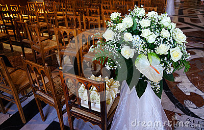 Wedding s floral decorations