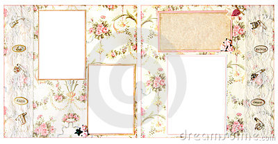 Wedding Scrapbook Page 12 X 12 Layout