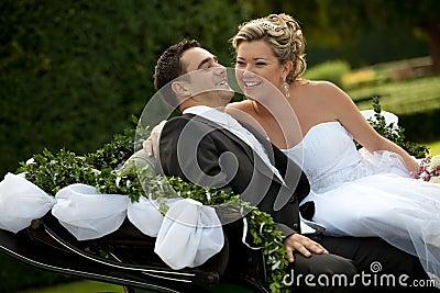 Wedding series, carriage