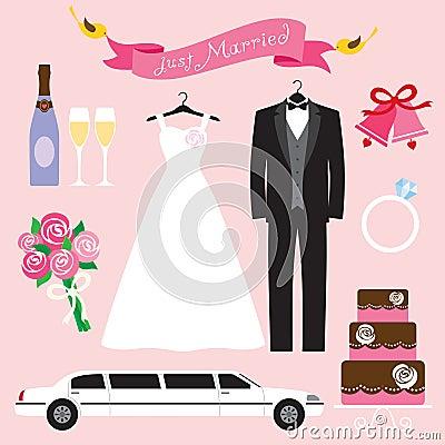 Free Wedding Set Stock Photos - 16125103