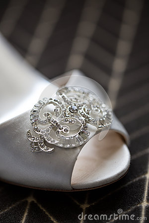Wedding Shoe Close Up
